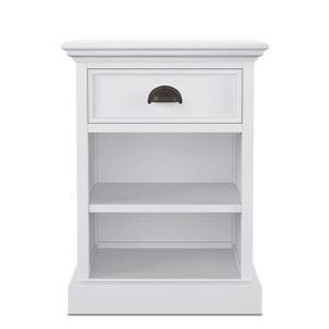 NovaSolo Halifax BedsideTable with shelves