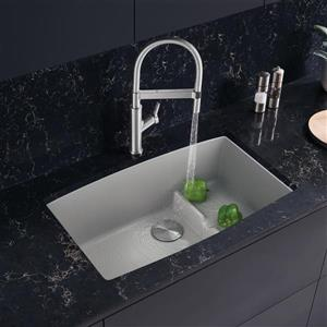Blanco Performa Cascade Undermount Sink - Concrete Grey