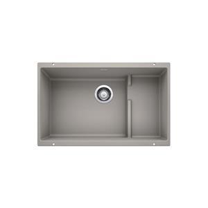Blanco Precis Cascade Undermount Sink - Concrete Grey