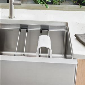 Multifuctional Sink Rails - Set of 2 - Stainless Steel