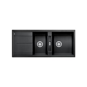Blanco Metra Double Bowl Drop-in Sink - Anthracite