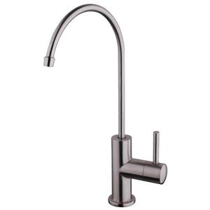 American Imaginations Kitchen Faucet - 1-Handle - 12-in - Stainless Steel