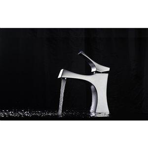 American Imaginations Undermount Bathroom Sink - Rectangular Shape - 18.25-in x 13.5-in - Beige