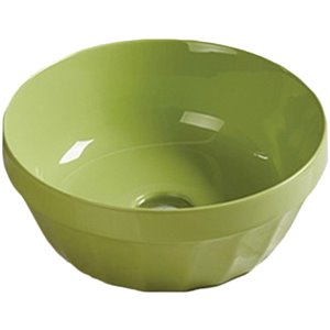 American Imaginations Bathroom Sink without Overflow Drain - Green