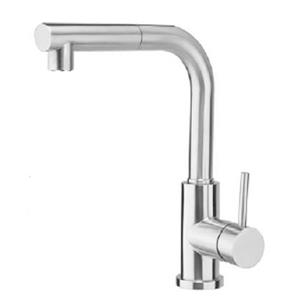 American Imaginations Kitchen Faucet - 1-Handle - 13-in - Chrome/Stainless Steel