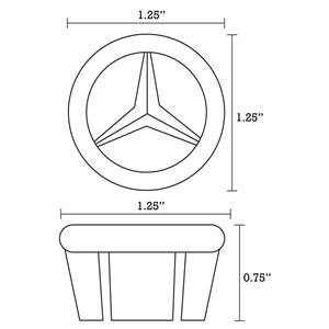American Imaginations Undermount Bathroom Sink - Rectangular Shape - 18.25-in - Beige