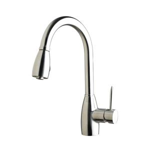 American Imaginations Kitchen Faucet - 1-Handle - 16.1-in - Chrome