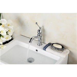 American Imaginations Undermount Bathroom Sink - 18.25-in - White