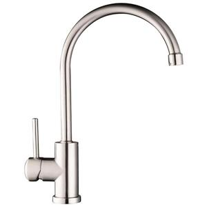 American Imaginations Kitchen Faucet - 1-Handle - 14.7-in - Chrome