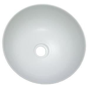 American Imaginations Vessel Bathroom Sink - 14.09-in - White