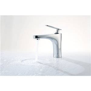 American Imaginations Undermount Bathroom Sink with Overflow Drain - 18.25-in - White