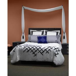 Versailles Home Fashions 1/2-in diam. 24-38-in Swing Arm set with Ball Finial - Pewter - Set of 2