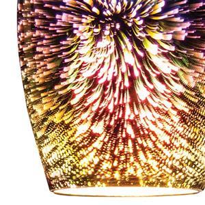 ELK Lighting Illusions Mini Pendant Light - 1-Light - Satin Nickel