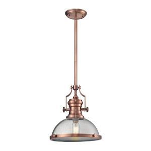ELK Lighting Chadwick Pendant Light - 1-Light - Copper