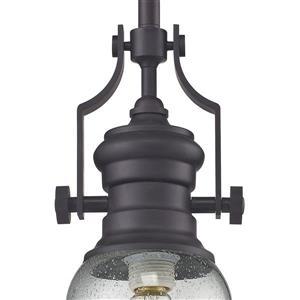 ELK Lighting Chadwick Mini Pendant Light - 1-Light - Oil Rubbed Bronze