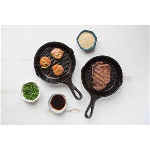 Lodge Cast Iron Grill Pan - 6.5-in
