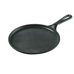 Lodge Cast Iron Round Griddle, 8.38-in.