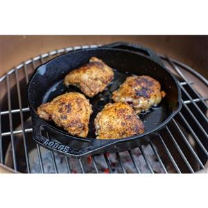 Lodge Cast Iron Dual-Handle Skillet - 10.25-in