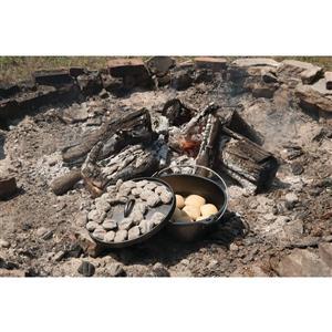 Lodge Cast Iron Deep Camp Dutch Oven - 6 qt.