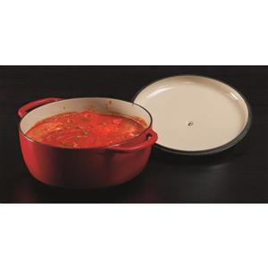 Lodge Enamel Dutch Oven - 7.5 qt. - Red