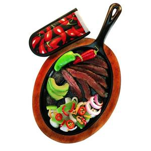 Lodge Cast Iron Fajita Kit