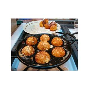 Lodge Aebleskiver Cast Iron Pan - 9-in.