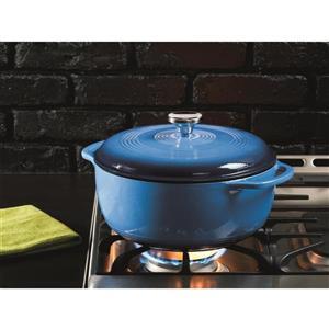 Lodge Enamel Dutch Oven - 6 qt. - Blue