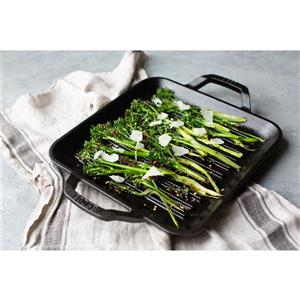 Lodge Chef's Collection Cast Iron Square Grill Pan - 11-in