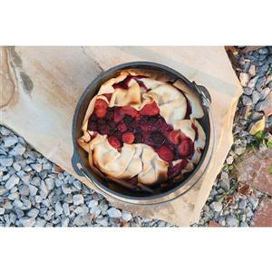 Lodge Cast Iron Camp Dutch Oven - 4 qt.