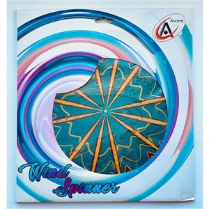 Dundee Deco Falkirk Wind Spinner - Hyper Splash - Teal