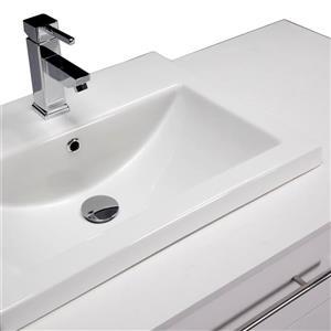 Spa Bathe Kendra Series Bathroom Vanity and Sink - 42-in. - White