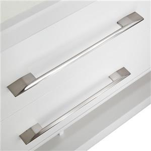 Spa Bathe Reynaldo Series Bathroom Vanity and Sink - 48-in. - White