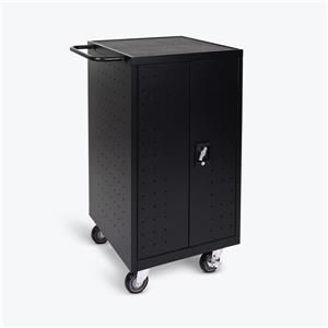 Luxor 18-Tablet / Chromebook Charging Cart - Black