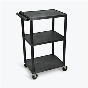 Luxor AV Cart - Three Shelves