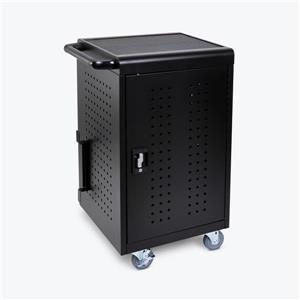 Luxor 30-Tablet / Chromebook Charging Cart - Black