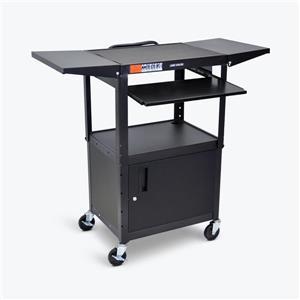 Luxor Adjustable Height Metal Cart