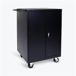 Luxor 24-Tablet / Chromebook Charging Cart - Black