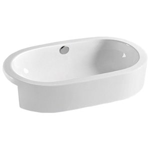 American Imaginations Vessel Sink - 24.8-in - White