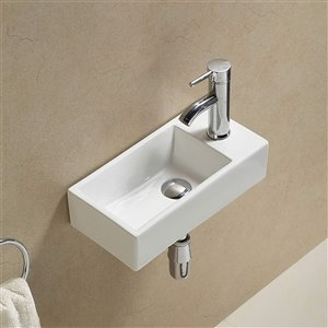 American Imaginations Wall-Mount - 16-in - White