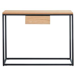 WHI Oak Veneer Console Table