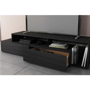 Nexera 112006 Tonik TV Stand -  72-inch -  Black