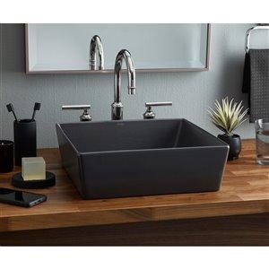 Cheviot Flex Vessel Bathroom Sink - 15-in - Graphite