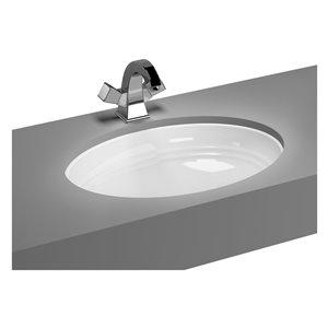 Cheviot Sienna Undermount Bathroom Sink - 23.13-in - White