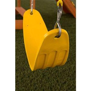 Creative Cedar Designs Ultimate Swing Seat - Yellow
