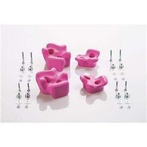 Creative Cedar Designs Climbing Rocks -  Pink -  4-Pack