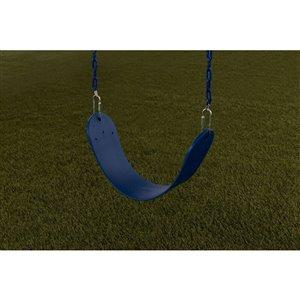 Creative Cedar Designs Standard Swing Seat - Blue - 26-in