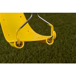 Creative Cedar Designs Beginner Swing Seat -  Yellow