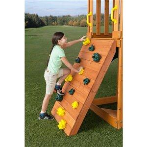 Creative Cedar Designs Climbing Rocks -  Green and Yellow -  4-Pack