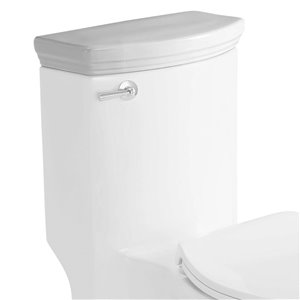 EAGO Replacement Toilet Tank Lid - 7.5-in - White Porcelain