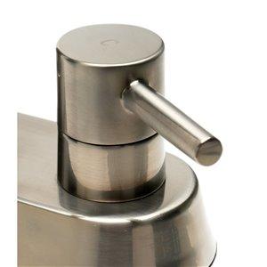 ALFI Brand Centerset Bathroom Sink Faucet - 2-Handle - 4-in - Brushed Nickel